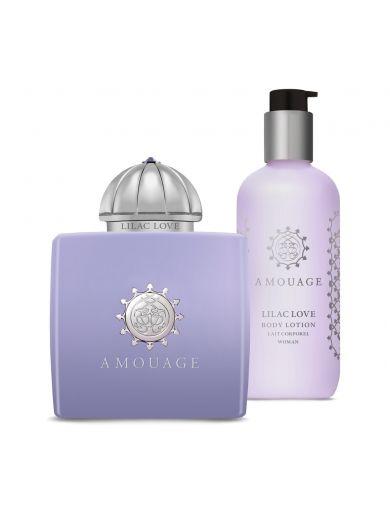 Amouage Lilac Love Gift Set - Ženska parfemska voda + Ženski losion za telo