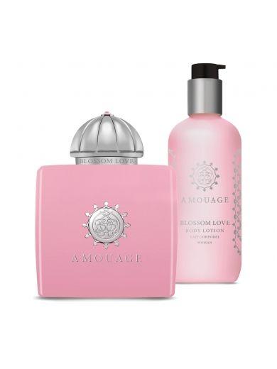 Amouage Blossom Love Gift Set - Ženska parfemska voda + Ženski losion za telo