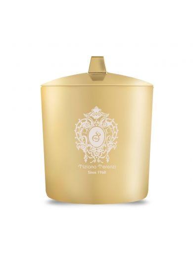 Tiziana Terenzi ANDROMEDA GOLD GLASS 2 WOOD WICKS - Uniseks sveća